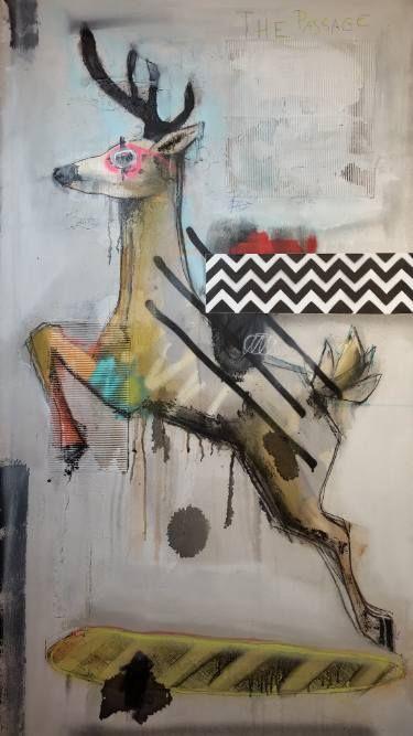 """Saatchi Art Artist Jérôme Rochette; Painting, """"The Passage"""" #art"""