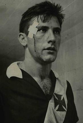 Bellini, jogador de futebol, Vasco,1961, Brasil