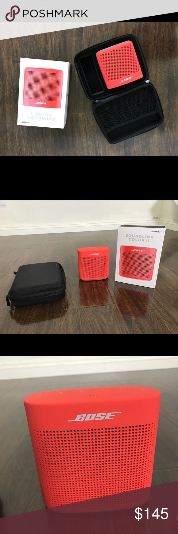 Bose SoundLink Color 2 Portable Speaker System Bose SoundLink Color 2 Coral Red Portable Speaker System. New used once. It comes with box and carrying case bose Other