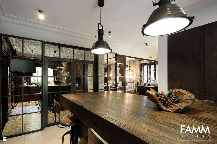 Kuchnia styl Industrialny - zdjęcie od FAMM DESIGN - Kuchnia - Styl Industrialny - FAMM DESIGN