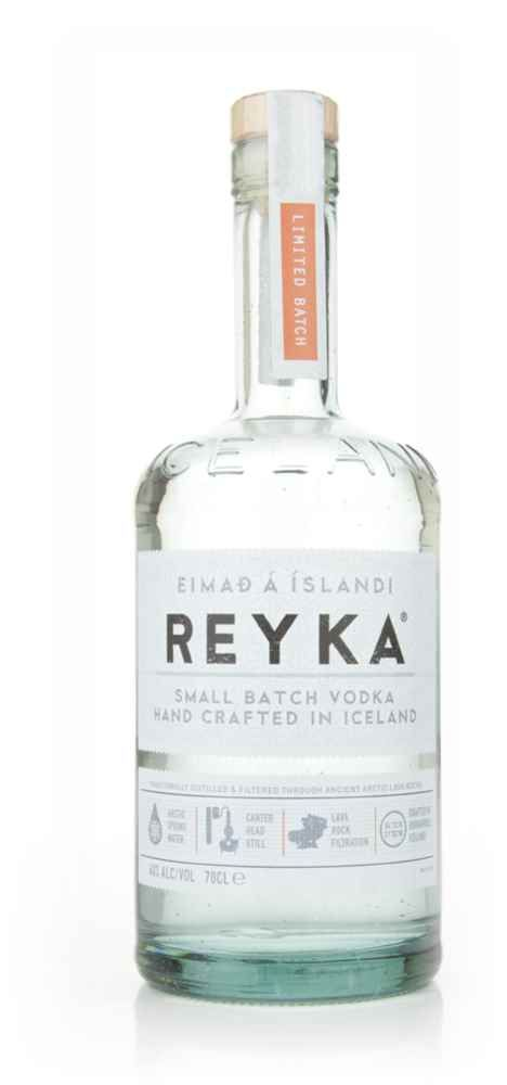 """#Reyka Vodka - available from Master of Malt. Reyka is an #Icelandic #vodka, distilled from wheat and barley. It is also the world's first """"green"""" vodka, it being made from glacial water and distilled using #sustainable energy from #geothermal heat. #spirits #eco-friendly alcohol #Iceland #snow #luxury"""