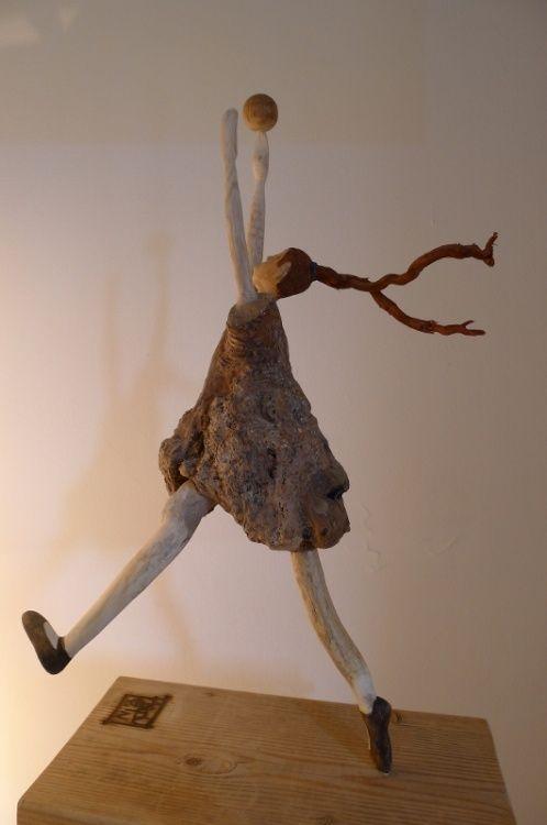 Bois flotté / 2013  nicole agoutin -  Sculpture: