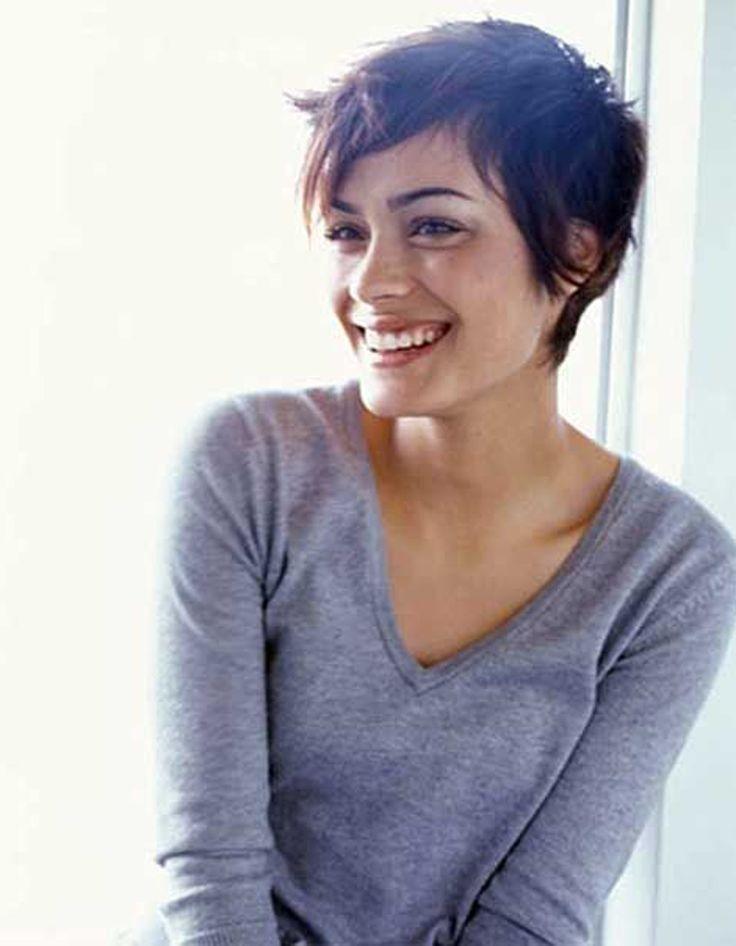 Modèle coiffure courte été 2016 - Les plus belles coupes courtes de Pinterest - Elle