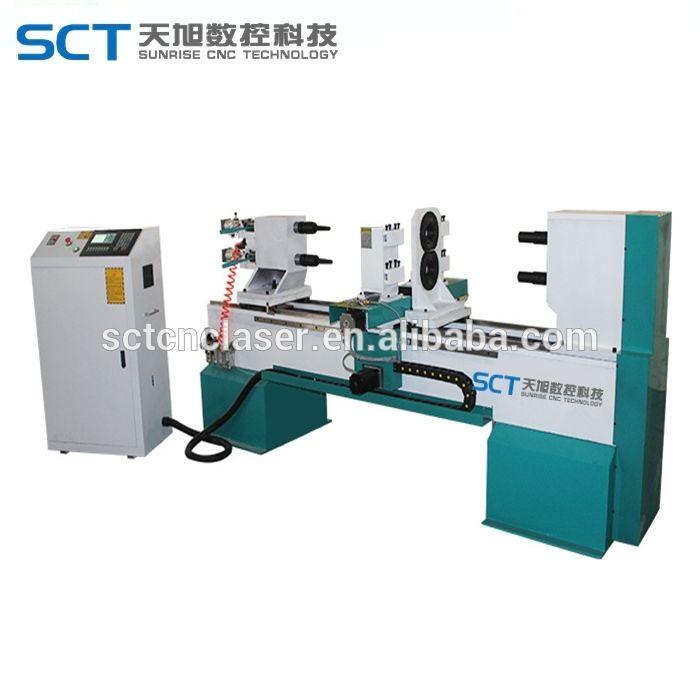 New Design 1530 CNC Copy Wood Turning Lathe Machine Price
