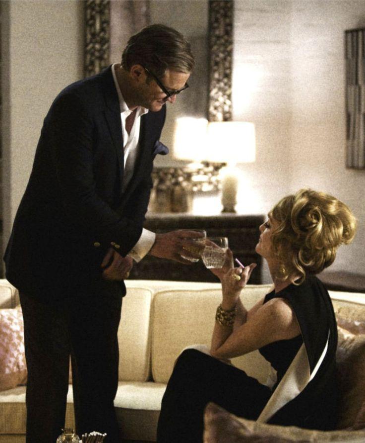 """Colin Firth y Julianne Moore en """"""""Un Hombre Soltero"""" (A Single Man), 2009"""