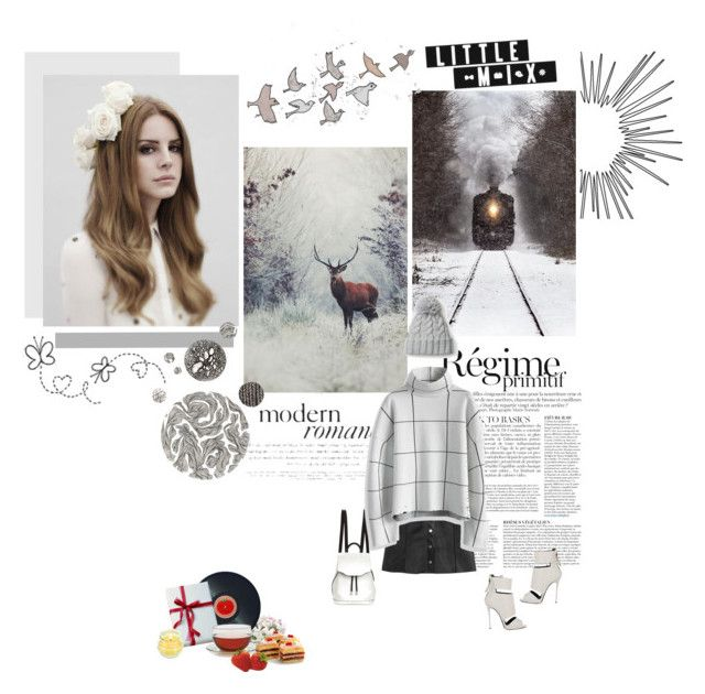 """""""Now I see fire Inside the mountain I see fire Burning the trees And I see fire Hollowing souls I see fire Blood in the breeze And I hope that you remember me.."""" by believeinmiracles ❤ liked on Polyvore featuring Anja, H&M, Giuseppe Zanotti, rag & bone, Chicwish, Joseph Joseph and Adagio Teas"""