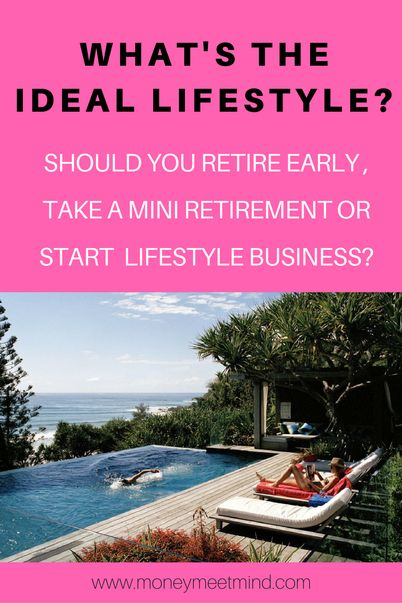 Why do so many of us dream of early retirement? To improve our lifestyle. Whether we want to travel, spend more time with our kids or work on something meaningful to us, early retirement is the dream. But, escaping the 9-5 comes in many forms and the ideal lifestyle may not be the one you imagine.