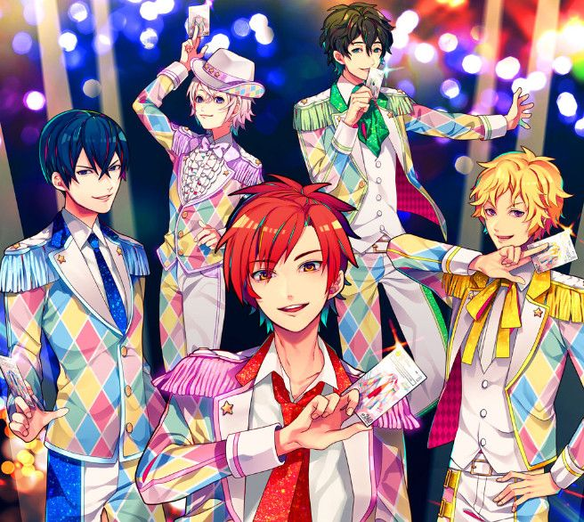 Bandai Follows Aikatsu With All-Male Dream Festival Idols - News - Anime News Network