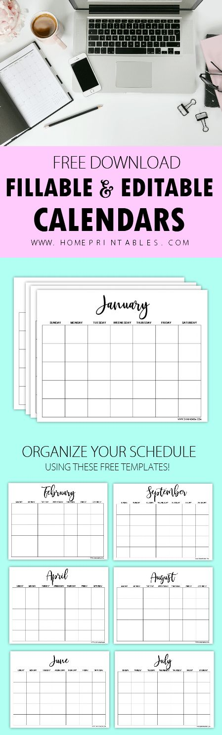 Best 25+ Calendar templates ideas on Pinterest Free printable - free journal templates