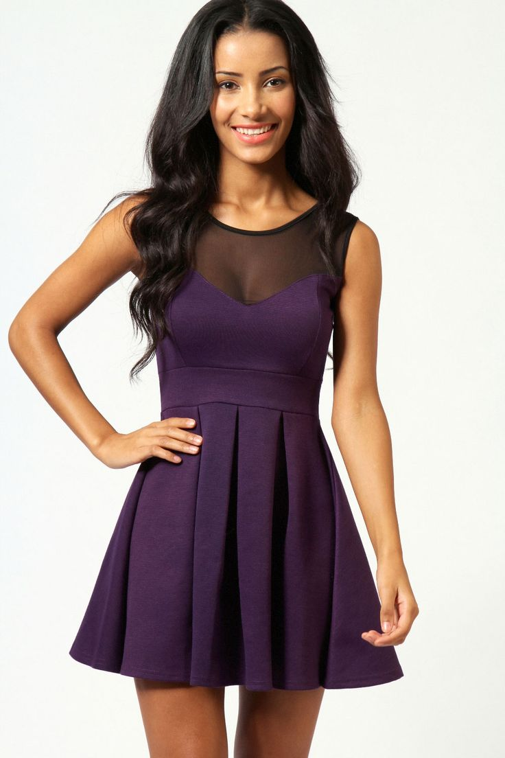 grape mesh skater dress Get 7% Cash Back http://www.studentrate.com/all/get-all-student-deals/Boohoo-com-Student-Discounts--/0