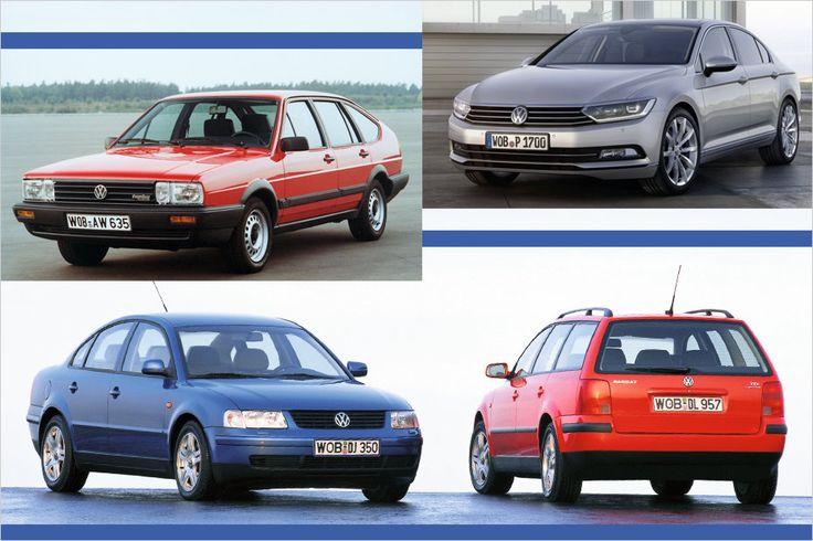 As melhores fotos de quatro décadas VW Passat