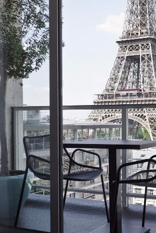 Superior Rooms overlook the Eiffel Tower. Hotel Pullman Paris Eiffel Tower (Paris, France) - Jetsetter
