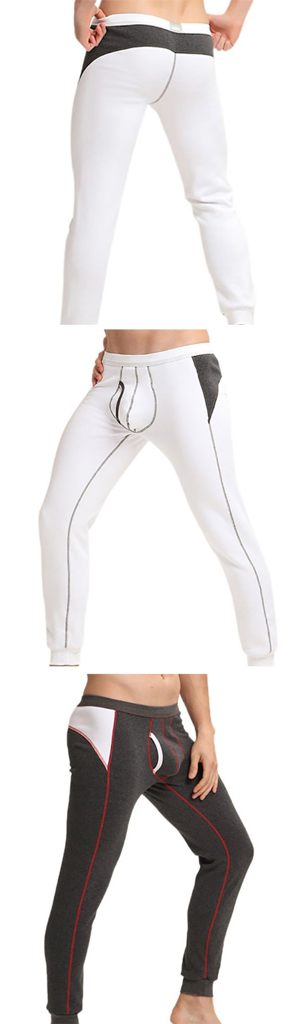 Warm&Casual: Thicken Tight Long Johns /Underwear for #men #fitness