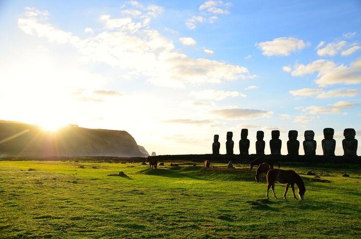 Pääsiäissaari, Easter Island, moai - All pages by Annu | Lily.fi