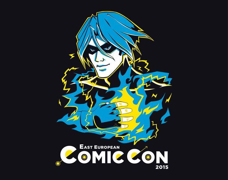"Check out my @Behance project: ""East European Comic Con 2015"" https://www.behance.net/gallery/42451699/East-European-Comic-Con-2015"