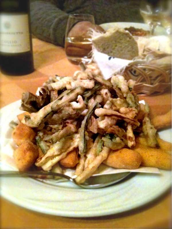 Fritto misto bolognese (bolognese fried medley), Bologna, Emilia-Romagna