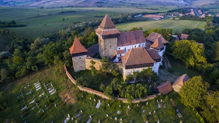 The Viscri fortified church is a Lutheran fortified church in Viscri,Brașov County, in the Transylvania region of Romania.Was   built in the 18th century on the basis of an ancient Roman basilica dated from the 12th century
