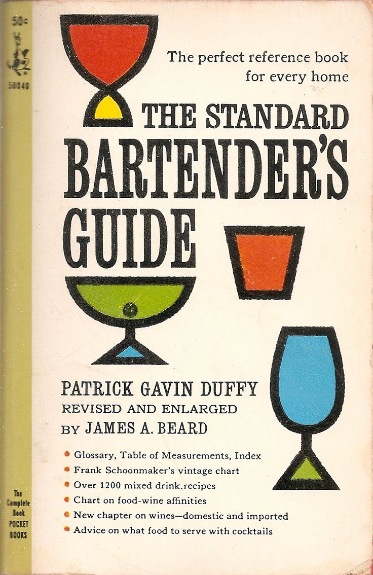 Standard Bartender's Guide - Patrick Gavin Duffy, revised and enlarged by James A. Beard