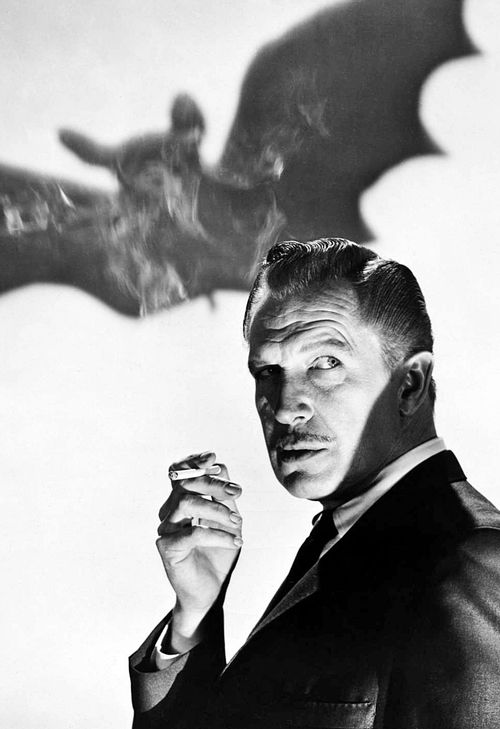 Vincent Price - The Bat (1959)  A copy of this picture hangs in my bedroom's wall...