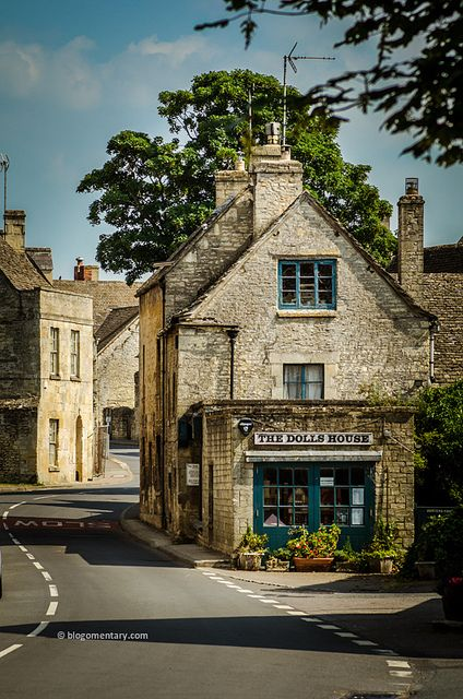 Northleach Cotswold Market Town, England.