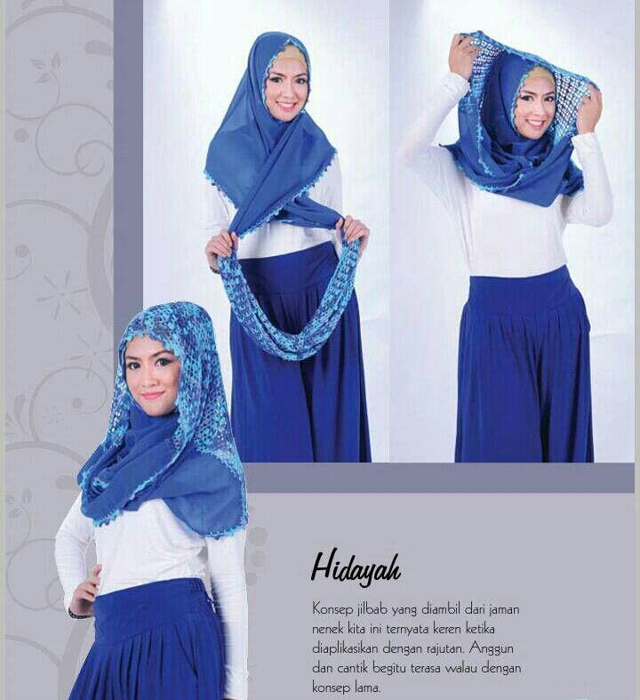 Hijab Rajut HIDAYAH  (Kerudung Instan)