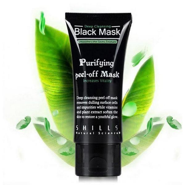 Black Mask - Purifying Peel-Off Face Mask For Blackheads
