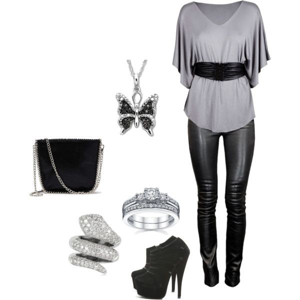 Clubbing Outfit, created by sweetcupcake7 on Polyvore find more women fashion id…