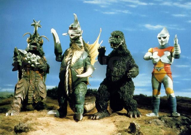 Godzilla vs Megalon party time!