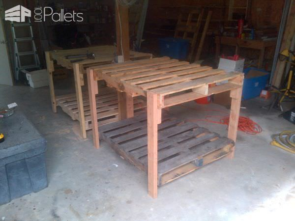 Shop Tables From Recycled Pallets (by 1001 Pallets)