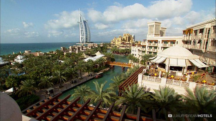 Overlooking the coast of the Arabian Peninsula - Madinat Jumeirah, #Dubai, United Arab #Emirates #luxurydreamhotels