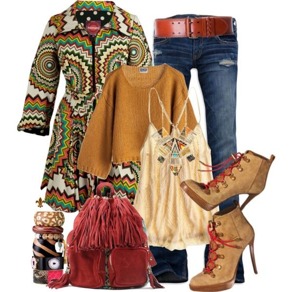 Fall Outfit: Fall Work Outfit, Bubbles Coats, Fans, Fall Outfits, Fall Hippie Fashion, Fashionista Trends, Hippie Chic, Gypsyboho Outfit, Fall Dresses