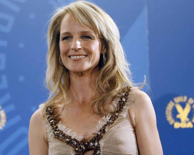 Helen Hunt-- feels no need for plastic surgery, and is naturally gorgeous!