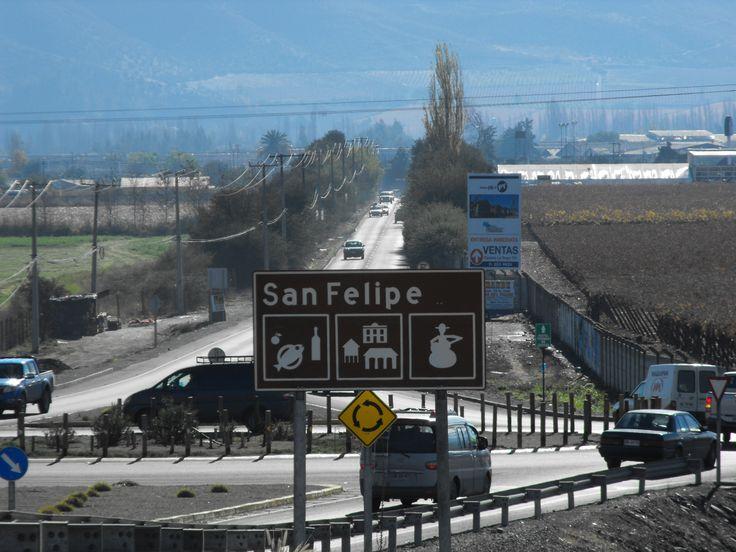 Ingreso a la  ciudad de San Felipe  http://cumbrenueva.cl/como_llegar/como_llegar.html
