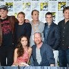 Adam Baldwin, Nathan Fillion, Sean Maher, Tim Minear, Alan Tudyk, Joss Whedon and Summer Glau at event of Firefly