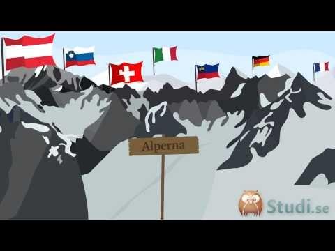 Vilka länder tillhör Centraleuropa? (Geografi) - Studi.se - YouTube