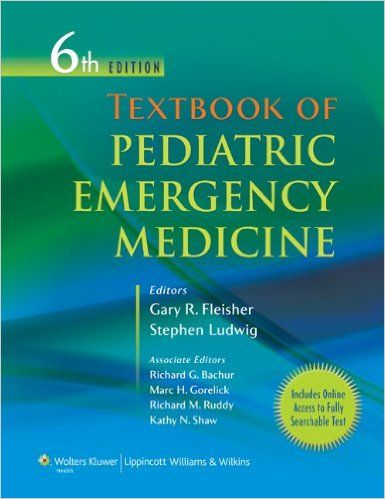 Textbook of Pediatric Emergency Medicine Sixth Edition