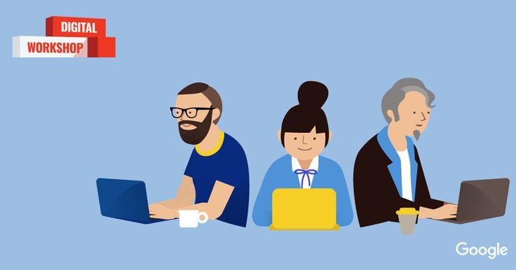 あなたのビジネスや就職活動に役立つ「デジタルマーケティング」を無料で学べます。すべて修了すると Google から認定証が発行されます。