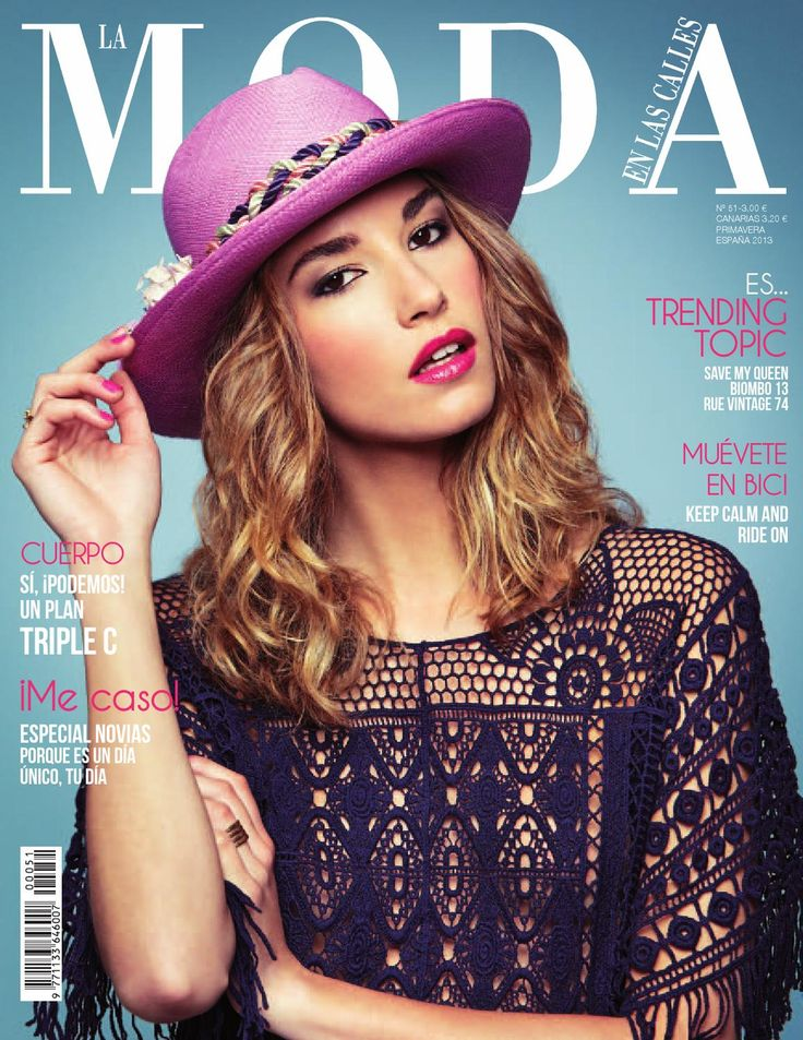 LA MODA EN LAS CALLES 51  Revista femenina Lifestyle con moda, belleza, tendencias, estilo, viajes, deco, coaching, ¡y todas las novedades para una primavera 10!