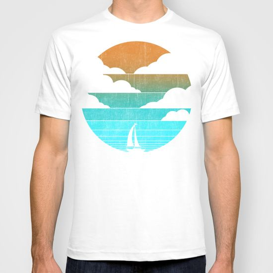Go West (sail away in my boat) T-shirt
