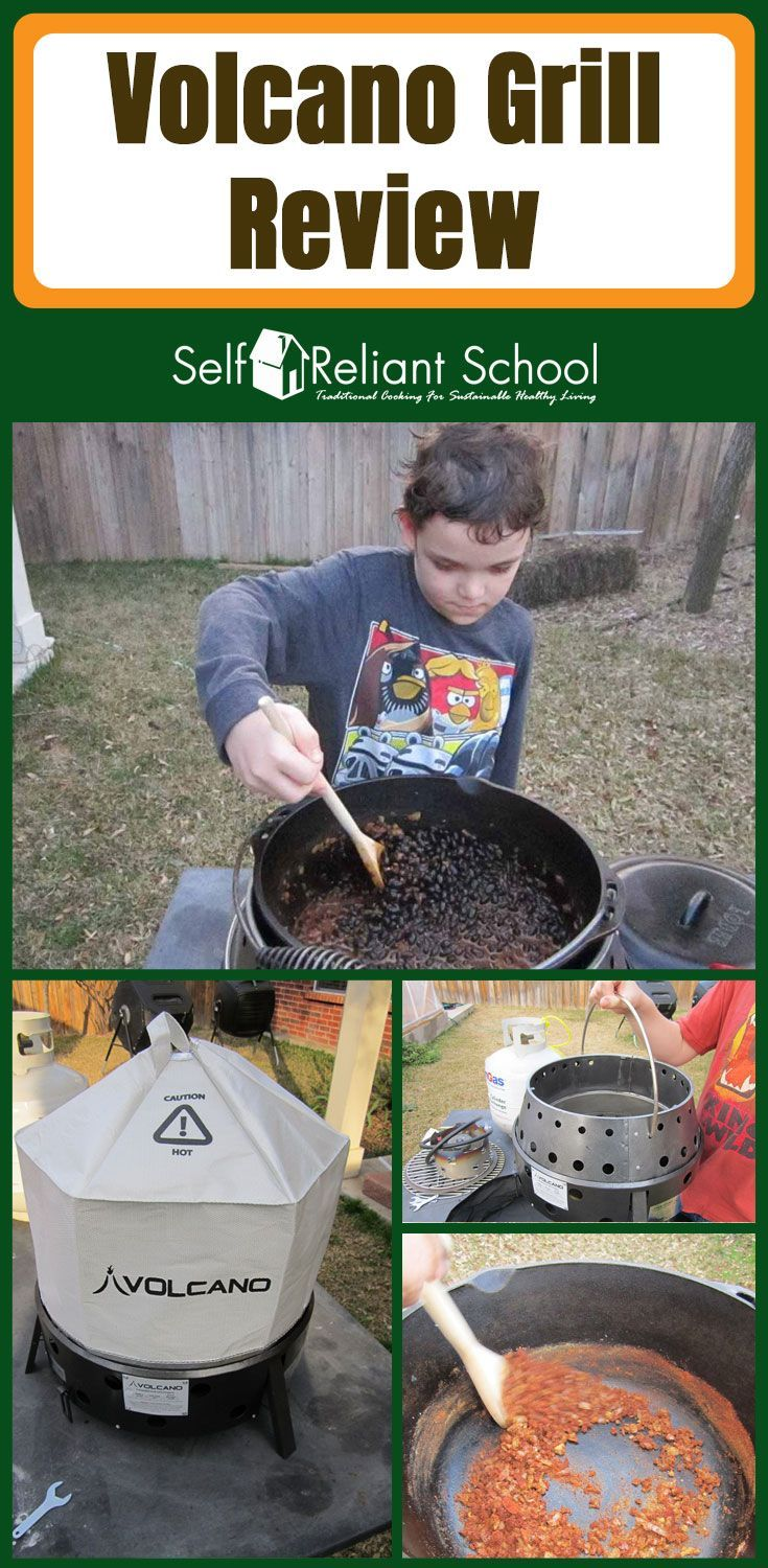 In this post I review the Volcano Grill (Stove). #beselfreliant via @sreliantschool