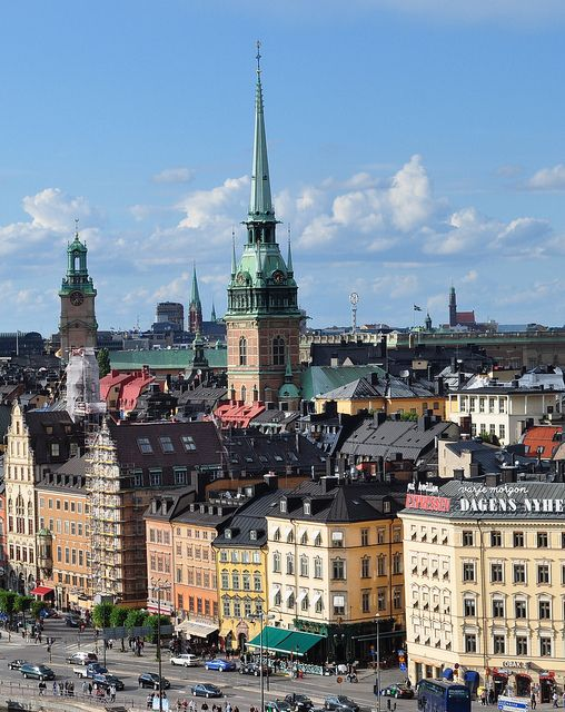 Gamla Stan, Stockholm. I've been here five times. I always stayed in Gamla Stan. One of my favorite cities in the world! I need to go back there...