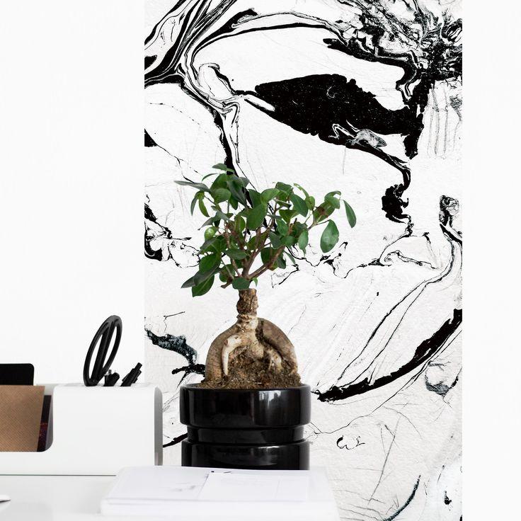 """marble wallpaper / papier peint magnétique """"marbre""""  #marble #marblewallpaper #magneticwall #marbre #papierpeint #wallpaper"""