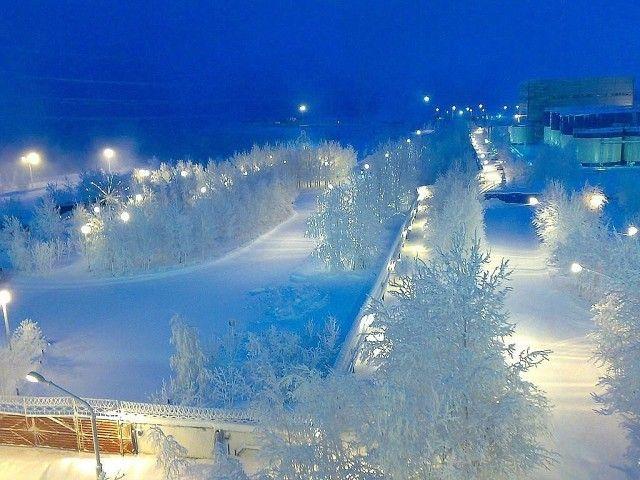 Раннее утро в Сибири. Красота!!!