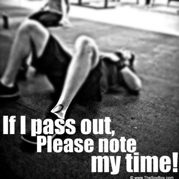 How many times this has happened, laid out after a WOD! LOL~This is #MyLifestyle via @ItsALifestyles