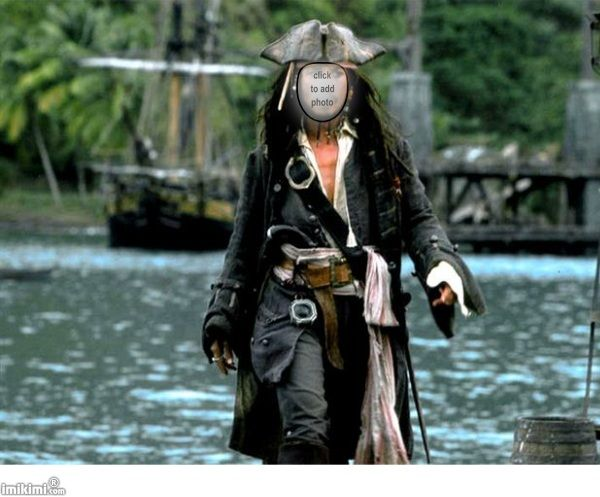 Arr! Put someone's face on a pirate! Shiver me timbers!!! Click to add face