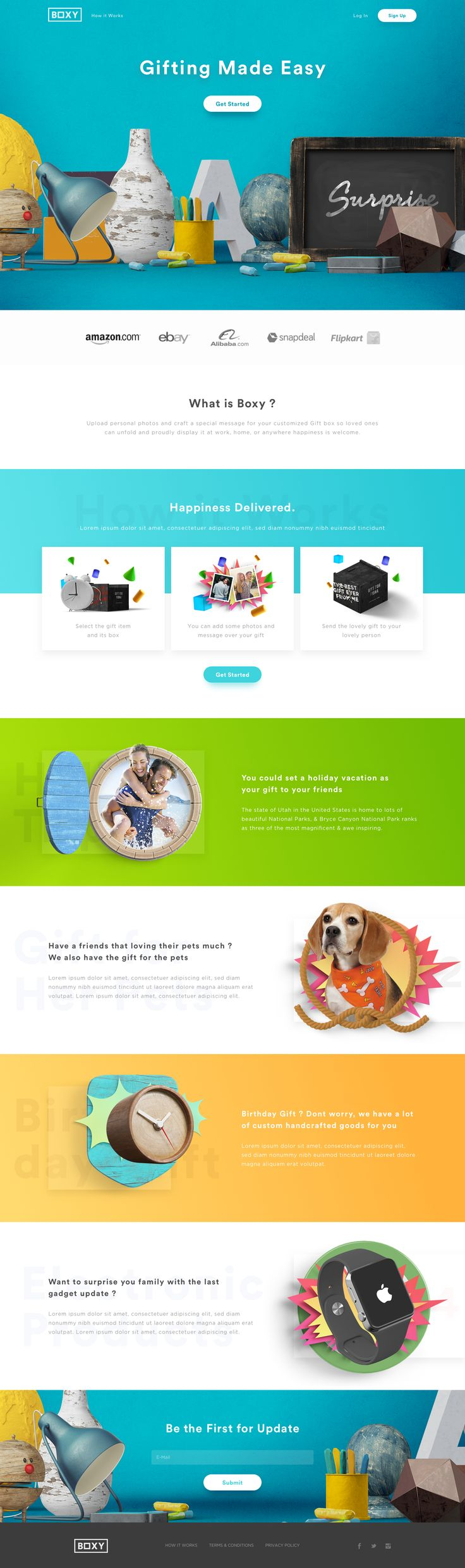 Boxy landing page fix - repinned by Tooplate.com