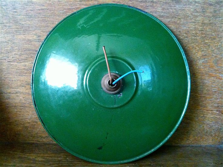 Vintage French Green Enamel Farm Lamp Light Shade circa 1950's Purchase in store here http://www.europeanvintageemporium.com/product/vintage-french-green-enamel-farm-lamp-light-shade-circa-1950s/
