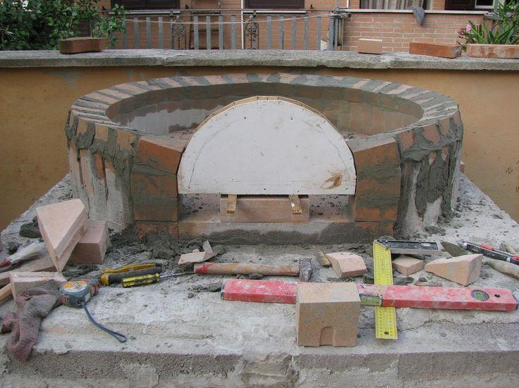 Costruzione forno a legna possibilmente economico page - Forno per pizza da giardino ...