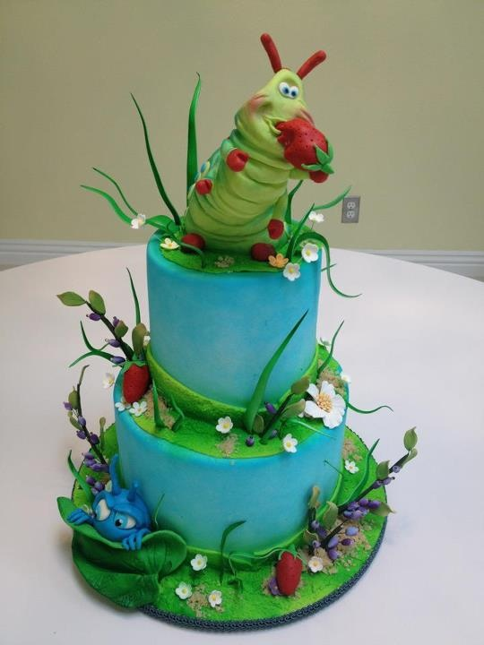 Bug S Life Cake Recipes Cakes Cupcakes Decorating Tips Pinte