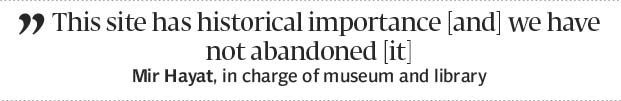State of disrepair: Ghani Dheri library museum lie in ruins - The Express Tribune